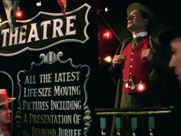 A scene from John Boulting's 1951 biopix, The Magic Box.