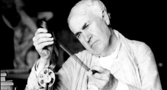 American inventor Thomas Alva Edison (1847-1931).
