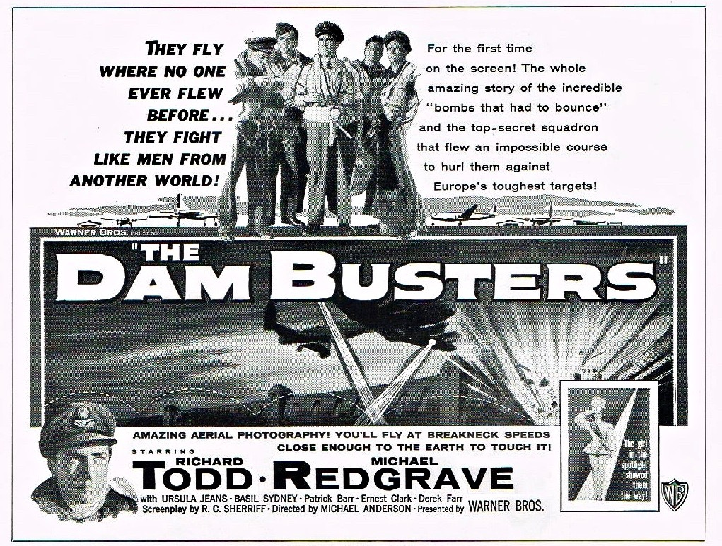 24x36 The Dam Busters Vintage Movie Poster